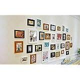 Galleria fotografica X&L Foto Salone di legno solido muro telaio parete foto parete-style , 1