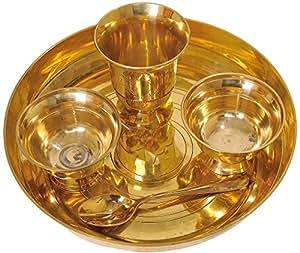Bronze Thali for Eating Food - Bronze