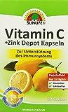 Sunlife Zink + C Depot Kapseln, 3er Pack (3 x 34,8g)