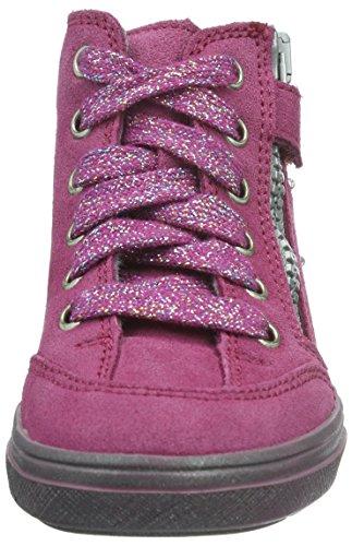 Richter Kinderschuhe Mädchen Ilva Sneakers Pink (mallow/silver 3101)