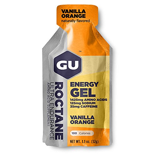GU Roctane Ultra Endurance Energy Gel-Vanilla Orange