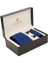 Cazzano Checkered Men's Tie Set (TCPNC195)
