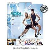 25 Stk. Geschenkgutscheine für Fitnessstudios, Fitnesscenter, Sport, Bewegung FI210