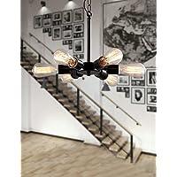 Goud lampadario lampada sospesa–Vintage–Con Lampadina inclusa–Metallo,