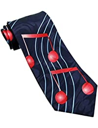 Big Red Notes Novelty Tie