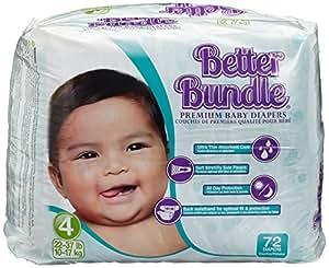 babies best Better Bundle Windeln Gr.4 Maxi 10-17 kg, 144 Windeln