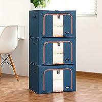 Aggiornamento Storage Box Oxford Cloth Storage Box Abbigliamento trapunta finitura box di grandi dimensioni 66 litri 3 Equipaggiata Storage Box ( colore : 13 )