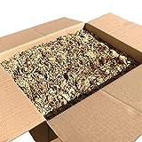 Jumbogras® Einstreu-Snips: gepresstes Kleintier Miscanthus-Stroh/Elefantengras-Streu für Käfig (20 kg)