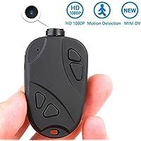 MATECam Mini Cámara Espía Oculta - Full HD 1080P DVR Grabadora de vídeo Mini Videocámara Detección de Movimiento