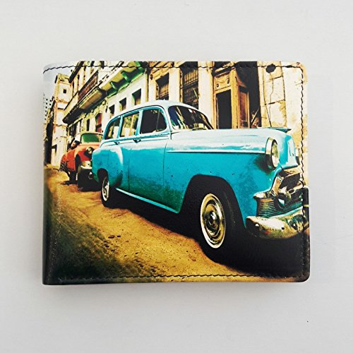 Golunski Retro Bi Fold Wallet, Cuban Auto 7–965 (Bi-fold Autos Wallet)