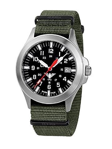 KHS Tactical Watches Platoon C1 KHS.PC1.NO Edelstahl Nato
