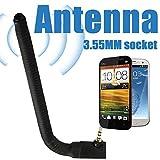 Externe Antenne des Handys, 3.5mm Breiten-Handy-Signal-Verbesserungs-Antennen-Kopfhörer-Hafen-externe Antenne, für beweglichen Handy