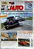 VIE DE L'AUTO (LA) [No 1190] du 29/09/2005 - DERNIERES VENTES ANGLAISES - LES PIECES REFABRIQUEES POUR TRACTION - CIRCUIT D'ANGOULEME - LES REMPARTS ONT TREMBLE - PORTES OUVERTES A MONTLHERY - L'UTAC FAIT UN GESTE.