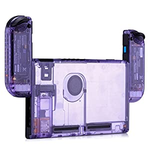 BASSTOP DIY Replacement Housing Shell Case Set for Switch NS NX Console and Right Left Switch Joy-Co