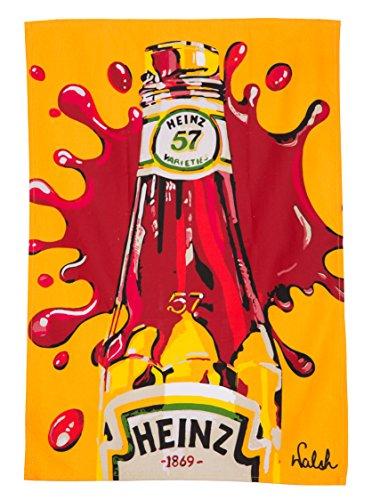Heinz Tomato Ketchup Tea Towel by Orla Walsh