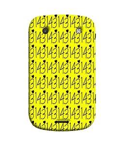PrintVisa Be Still My Heart 3D Hard Polycarbonate Designer Back Case Cover for BlackBerry Bold Touch 9900 :: BlackBerry Dakota :: BlackBerry Magnum