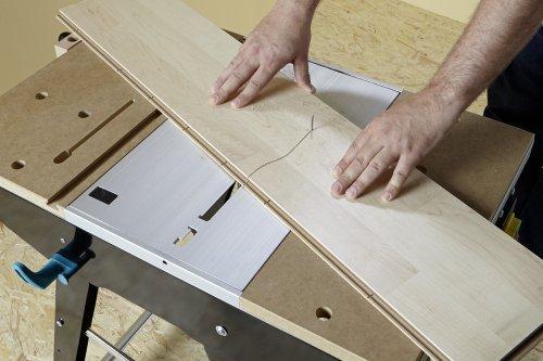Wolfcraft Master cut 1500 Präzisionssägetisch und Arbeitsstation 4-in-1, 6906000 1 - 2