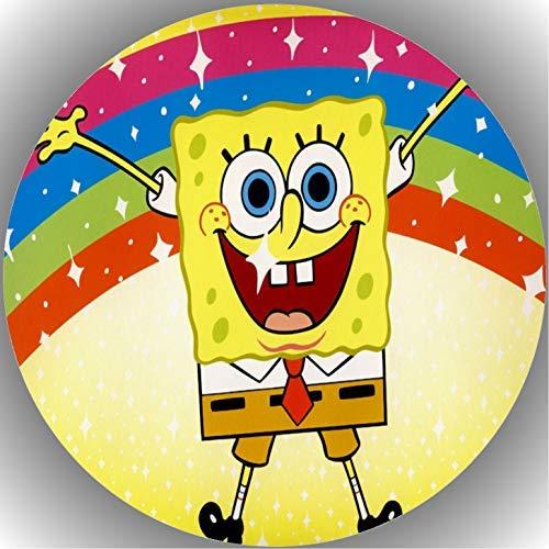 Fondant Tortenaufleger Tortenbild Geburtstag Spongebob T1