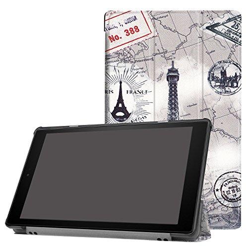 Schutzhülle für Amazon Fire HD10 10.1 Smart Cover Slim Case Display Etui + Gratis Stylus Pen Case Cover Stylus Pen