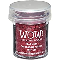 WOW! Embossing Powder 15ml-Red Glitz