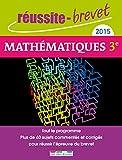 Réussite-brevet 2015 - Mathématiques