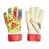 adidas Classic League Gants de Foot Mixte Adulte, Solar Yellow/Active Red/Football Blue, FR : XL (Taille Fabricant : 9)