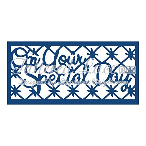 Tattered Lace On Your Special Day Panel Inset D774 Stephanie Weightman by Tattered lace -