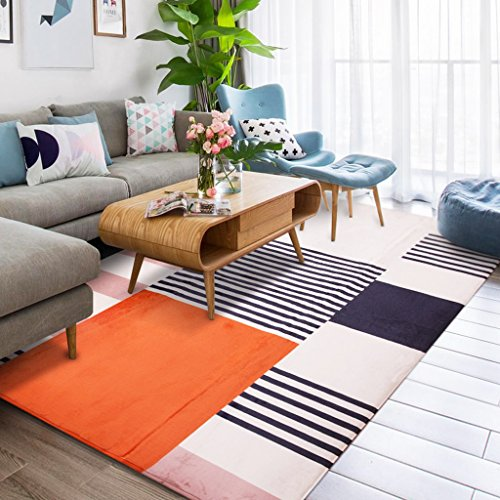 Déco Orange Tapis