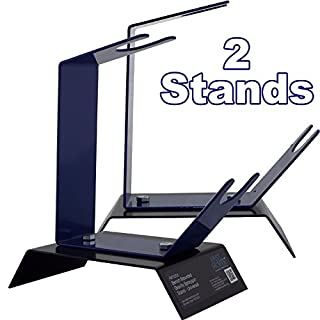 Fast Mover 2 x Gravity Feed Spray Paint Gun Holder/Stand For Work Bench/Table Top/Station Strong Build Very Sturdy