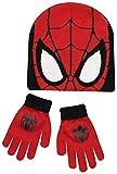 Spiderman Jungen Schal & Handschuh-Set, rot