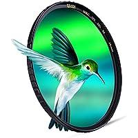 ESDDI Filtro de Protección UV de 58mm, Vidrio Óptico Schott B270 con 22 Capas de Revestimiento Múltiples