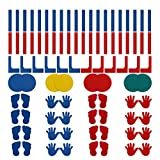 Sport-Thieme® Bodenmarkierungs-Set II 76er Set