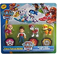 Radhey Preet Paw Patrol Action Pup & Badge, Ryder, Tracker, Robot Dog, Everest, Fun Loving Toy for Kids (Multicolor…