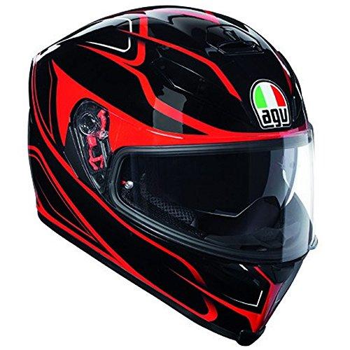 Casco integral AGV K-5K5S plk Magnitude negro rojo Black Red Helme