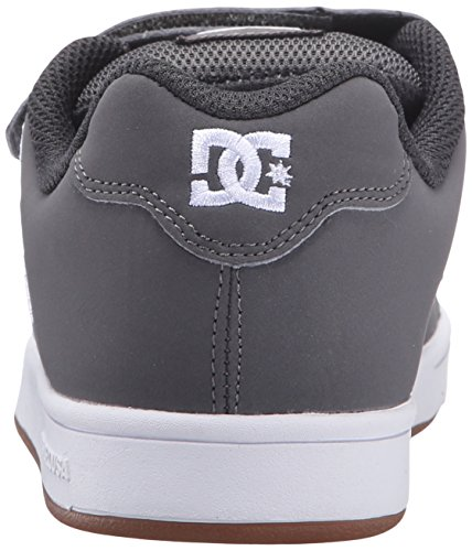 DC Shoes - Sneaker CHARACTER V, Bambino Grey/White