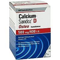 Calcium Sandoz D Osteo Kautabletten 100 stk preisvergleich bei billige-tabletten.eu