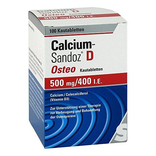 Calcium Kautabletten (Calcium-Sandoz D Osteo 50 100 stk)