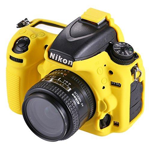 Camouflage Silicone Protective Case Weiche Silikon-Schutzhülle für Nikon D750 (Camouflage), diese Silikon-Kameratasche passt für Nikon D750 digitale Spiegelreflexkamera. for Nikon D750 Digital SLR Cam Digitale Slr-cam