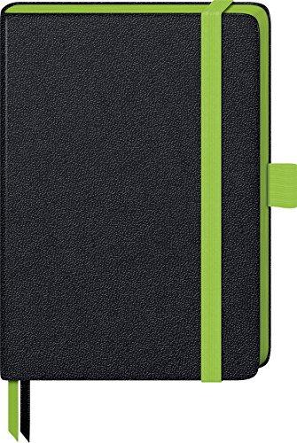 Brunnen 105571752 Notizbuch Kompagnon Trend (Hardcover, 9,5 x 12,8 cm, liniert, 192 Seiten) 1 Stück grün