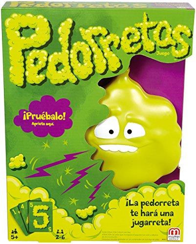 Mattel Games Pedorretas, Juego de Cartas (Mattel DRY35)