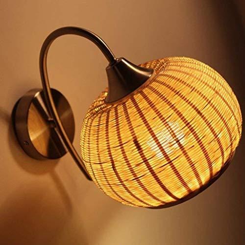 nouler Pastorale Wandleuchte Stil Single Head Nordic Walking Nacht Bauernhaus Lampe Schlafzimmer Vintage Kinder der Zimmer der Objekte der Dekoration Lichter -