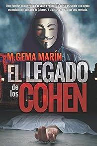 EL Legado de los Cohen par M.GEMA MARÍN
