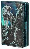 Orientación, lobos con billetera multicolor multicolor - Fantasy - Nemesis Now