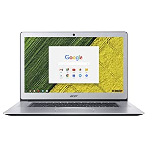 Acer Chromebook 15 CB515-1HT - (Intel Pentium N4200, 4GB RAM, 64GB eMMC, 15.6 inch FHD Touchscreen Display, Google Chrome OS, Silver)