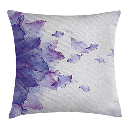 Ntpclsuits Flower Pillow case Abstract Themed Modern Futuristic -