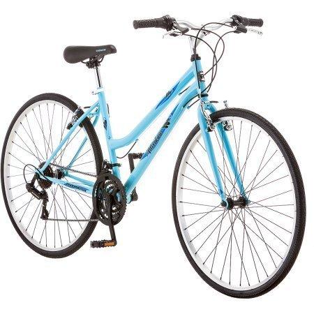 Roadmaster Adventures Women's Hybrid Bike, 700c , Light Blue/R5727WM by