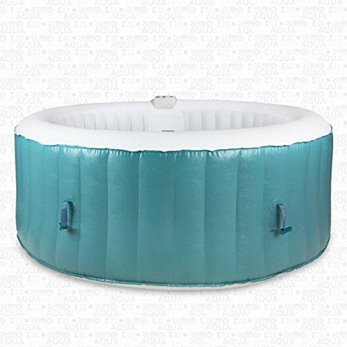 Whirlpool 4 P Jacuzzi In-Outdoor Pool Spa Wellness Heizung Massage aufblasbar - 2