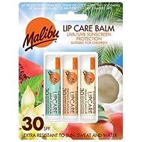 Malibu blister Lipbalm con SPF30, Mint/mango/Vanilla 12ml