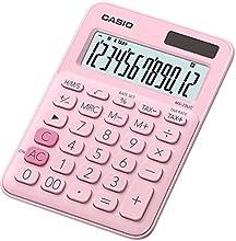 Casio MS 20UC PK Calculatrice de bureau Rose
