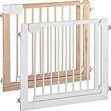 IB-Style - Treppengitter / Türgitter KOLBY L | 3 Größen | 94 - 100 cm | aus massivem Holz - Natur